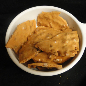 Woodys homemade peant brittle