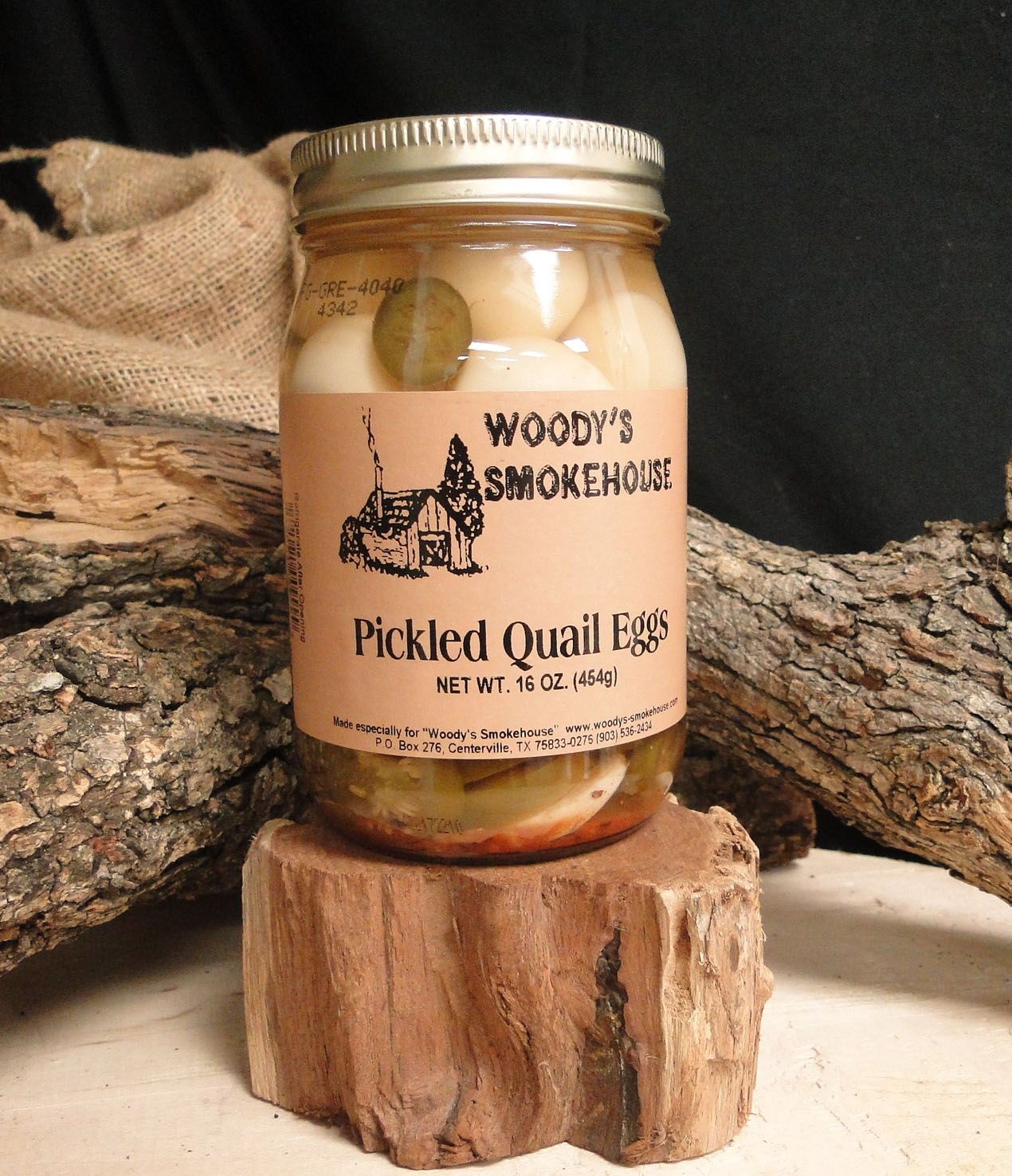 Pickled Quail Eggs - Woody's Smokehouse