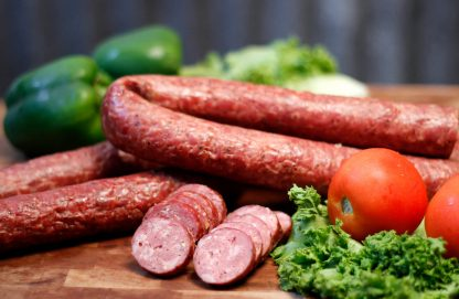 Woody's Buffalo & Pork Link Sausage