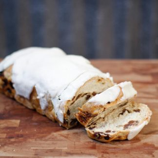 Woody's Iced Cinnamon Raisin Bread