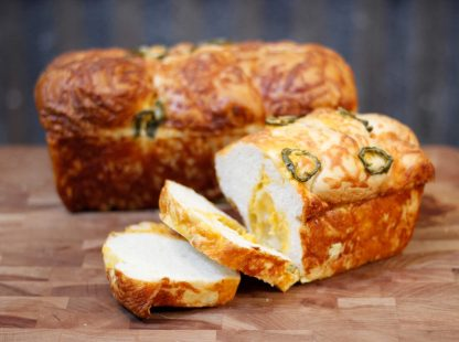 Woody's Mini Jalapeno Cheese Bread
