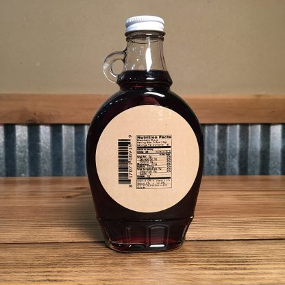 Blackberry Syrup label