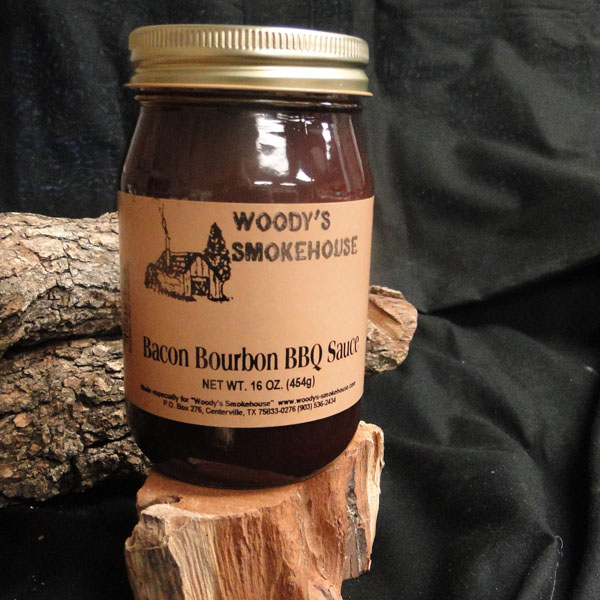 Bacon Bourbon BBQ Sauce | Woody's Smokehouse